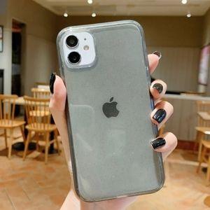 iPhone 11 case Clear Glitter Heavy-duty